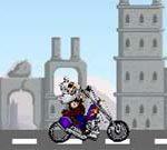 Biker in Medieval Times