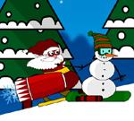 Santa Rocket Sledge