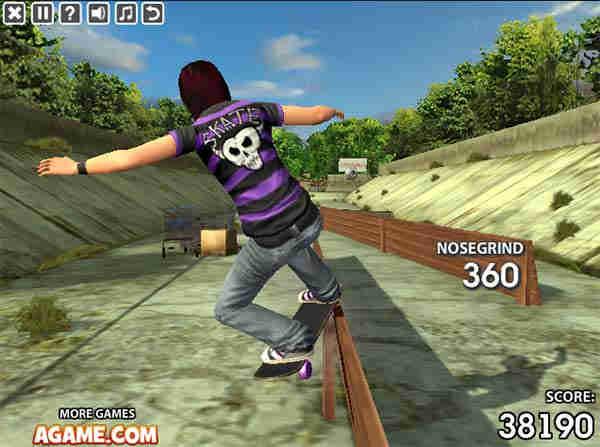 Image Stunt Skateboard 3D