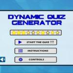 Dynamic Quiz Generator