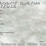 Keyboard Custom Controls