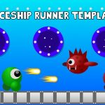 Space Ship Infinite Runner Game Template