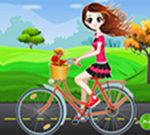 Bicycle Girl Dressup