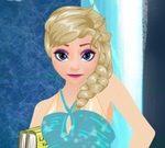 Elsa Dress Up for School