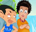 Sam with Mr.Bean Dressup