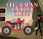 Stickman Harley Ride
