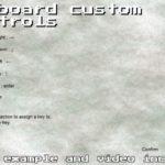 Keyboard Custom Controls