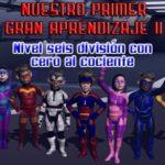 NPGA II Nivel 6 División con cero al cociente