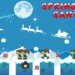 Springing Santa